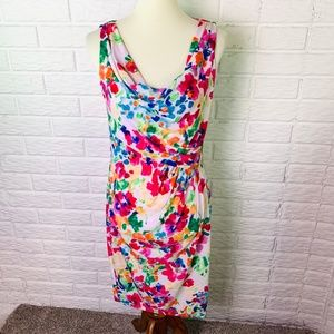 American Living Dress Size 8 Colorful Watercolors